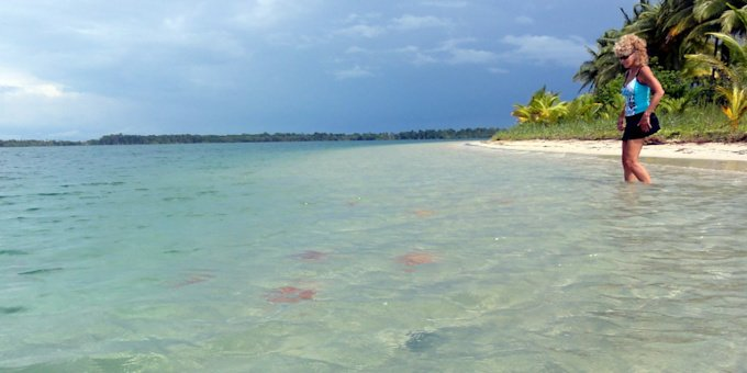 Bocas del Toro is a collection of 68 islands along the northwestern Panama coast.