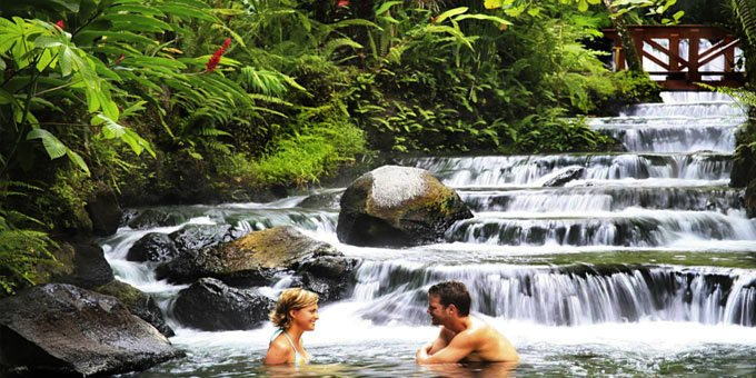 Visiting the hot springs in Costa Rica is a must for most travelers.