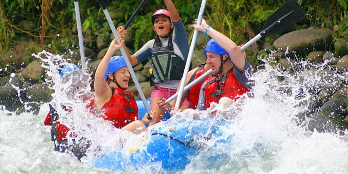 Costa Rica is home to some of the best whitewater rafting rivers in Central America.