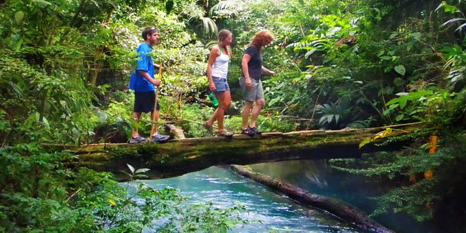 From flat lowland coastal park trails to challenging mountain treks such as Cerro Chirripo, there is no shortage of hiking trails in Costa Rica!  In fact, many people visit Costa Rica just for the hiking.