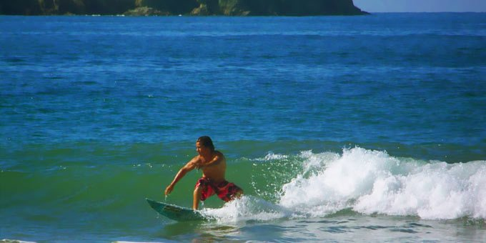 The surfing in Costa Rica is excellent with many options available for all skill levels.