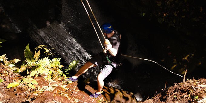 Costa Rica is well-known as a premiere destination for canyoning (or canyoneering).