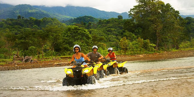 If you have the need for speed, then the ATV tour is a great activity for you!  ATVs are small, fast personal off road vehicles that allow you to speed through trails.