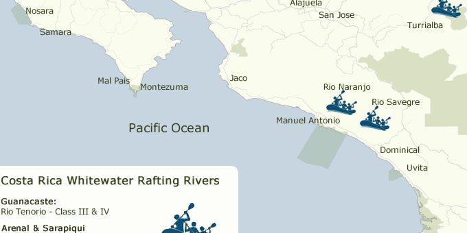 Costa Rica Maps Where Is Costa Rica
