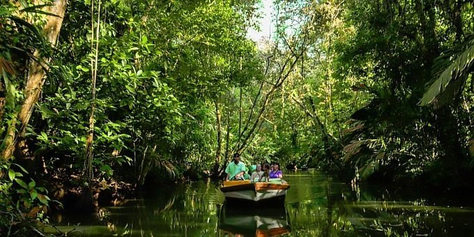 Tortuguero is a remote destination, only accessible by boat or car.