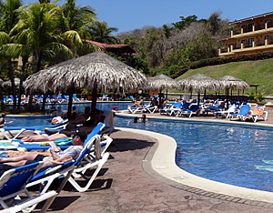 The Occidental Allegro Papagayo is a popular all inclusive resort in Costa Rica.