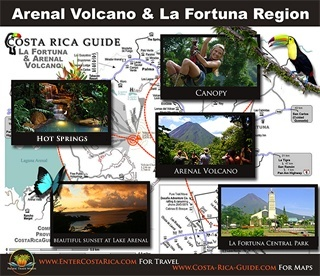 Arenal is the most exciting destination in Costa Rica!