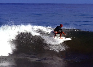 Surfing is awesome in the Nicoya Peninsula in Guanacaste, Costa Rica
