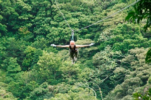Canopy Zipline in Monteverde is a great way to see the Cloud Forest