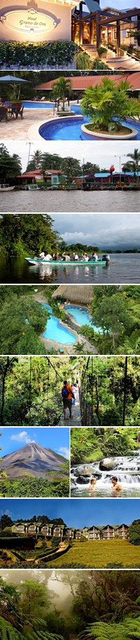 Costa Rica Safari Vacation Package