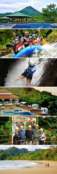 Funky Monkey Adrenaline Junkie Costa Rica Adventure Vacation