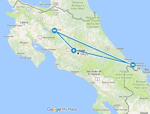 Small map for this trip